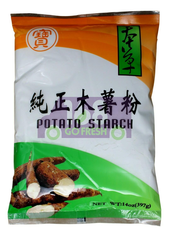 POTATO STARCH 宝牌 纯正木薯粉(14OZ)