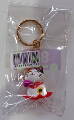 LUCKY CAT KEY CHAIN日本招财猫钥匙扣