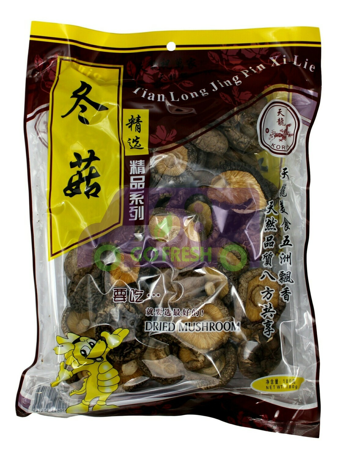 EAST DRAGON DRIED MUSHROOM 东龙 冬菇(180G)