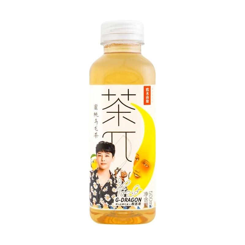 NONGFU SPRING PEACH OOLONG TEA 农夫山泉 蜜桃乌龙茶(500ML)