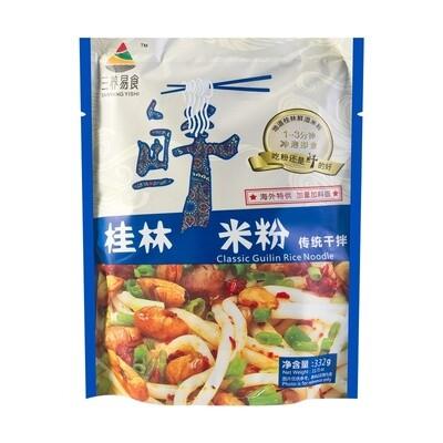 SANYANGYISHI ORIGINAL FLAVOR RICE NOODLES 332G 三养易食 桂林鲜米粉 传统干拌(332G)