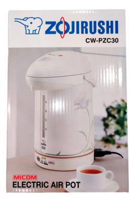 ZOJIRUSHI MICOM SUPER BOILER 3L CW-PZC30 象印 全自动智能安全保温煮水器(023596290884)