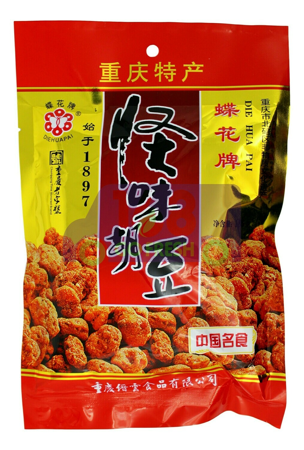 DH SPECIAL BROD BEAN 蝶花牌 怪味胡豆(185G)