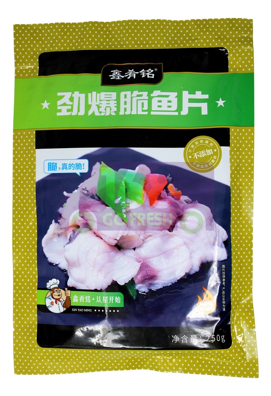 STIR FRY FISH FILLET 鑫肴铭 劲爆脆鱼片(250G)