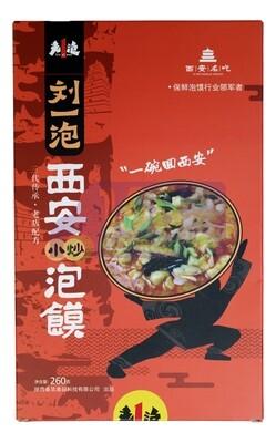 INSTANT BREAD SOUP 刘一泡 西安小炒泡馍(260G)