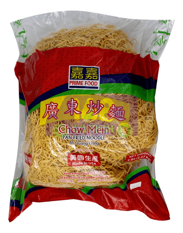 PRIME FOOD CHOW MEIN PAN FRIED NOODLE 嘉嘉 广东幼炒面(5LB)