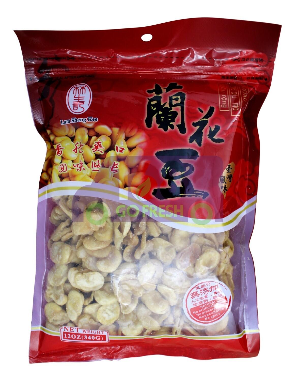 LAMSHENGKEE BROAD BEANS 林生记 兰花豆 (12OZ)