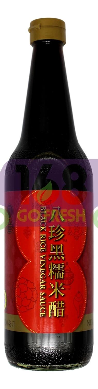 PAT CHUN SWEETENED VINEGAR 八珍 八珍黑糯米醋(600ML)