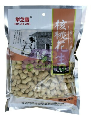 HUAZHIYING WALNUT FLAVOR  PEANUTS 华之鹰 核桃花生(350G)