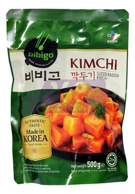 BIBIGO CUT KIMCHI 韩国 CJ BIBIGO切萝卜泡菜(500G)