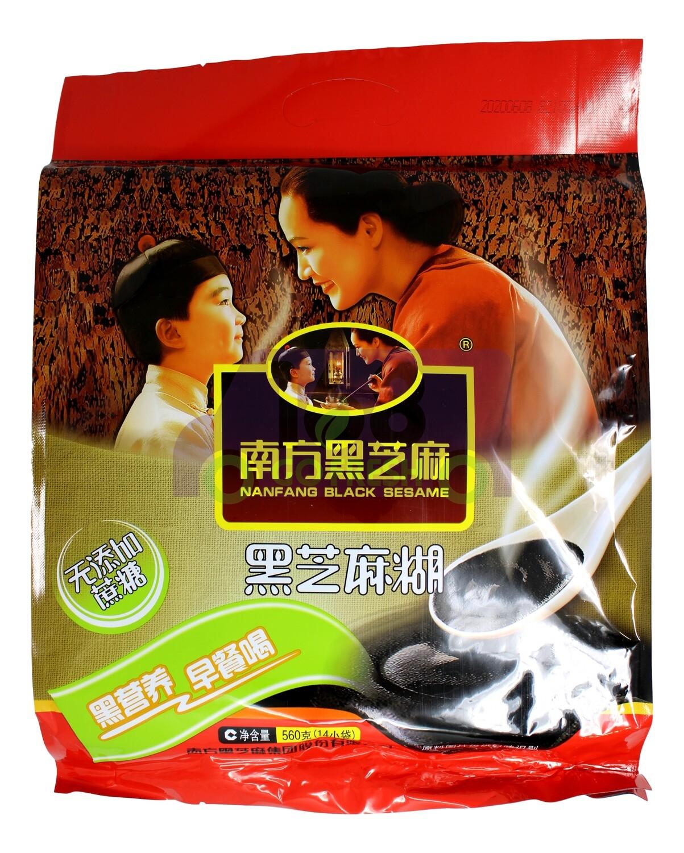 NAN FANG BLACK SESAME  南方 黑芝麻 无糖(560G 14小包)