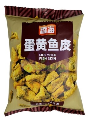 EGG YOLK FISH SKIN 香海 蛋黄鱼皮 原味(50G)