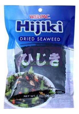 Wel.Pac Hijiki (Dried Seaweed) 韩产 羊栖菜 (海藻)(2 OZ)