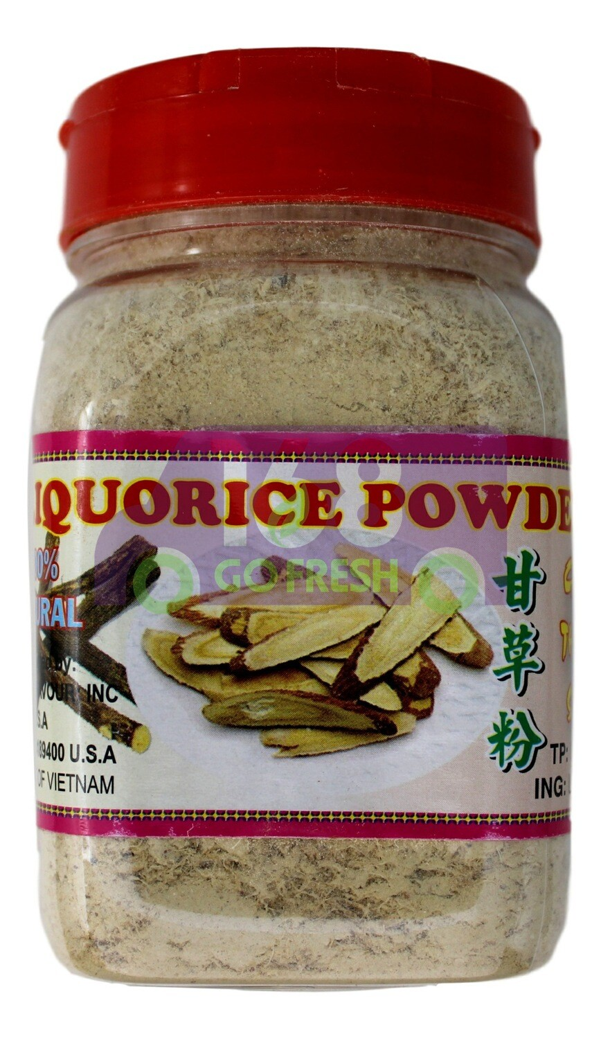 Best Taste Brand Liquorice Power 越南红马 甘草粉(4OZ)