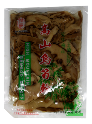 HIGH MOUNTAIN BAMBOO SHOOTS 林生记 高山乌笋(400G)