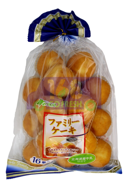 MARUKIN  MUFFIN  日本产 Marukin 北海道产牛乳小蛋糕(16个)