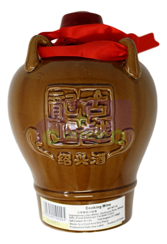 SHAOXING COOKING WINE 古越龙山 坛装 三年绍兴料酒(1.5L)