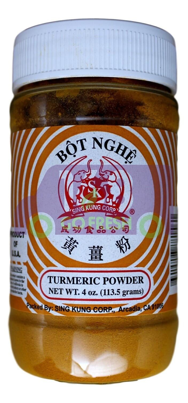 BOT NGHE TURMERIC POWDER 成功食品 黄姜粉(4OZ)
