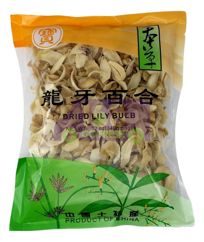 DRIED LILY BULB 宝牌 龙牙百合(12OZ)