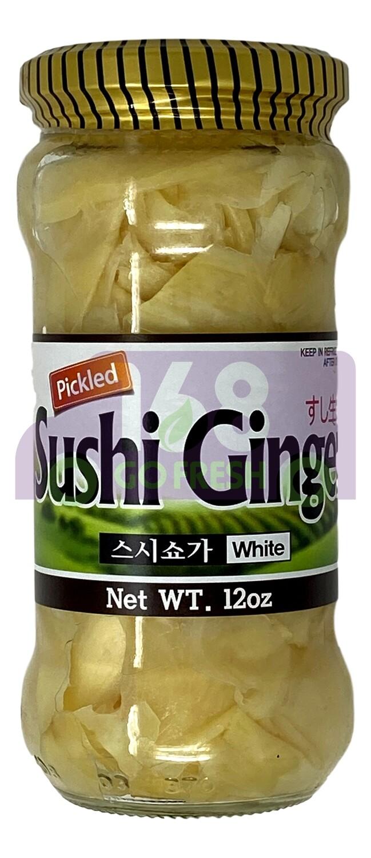 PICKLED SUSHI GINGER - WHITE 鹿牌 寿司姜 白色(12OZ)