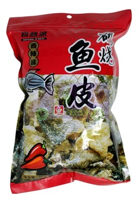 FISH SKIN 自然派 矶烧鱼皮 香辣味(50G)