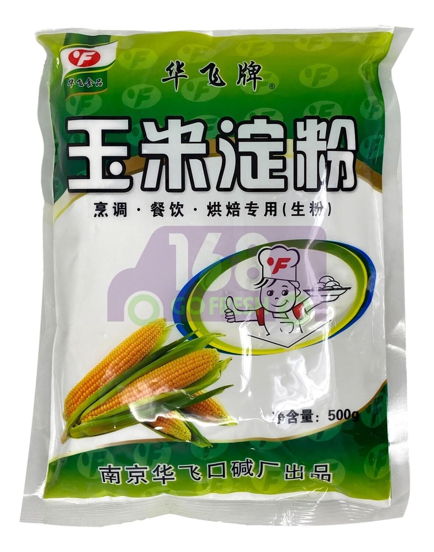 HUA FEI EDIBLE CORN STARCH 华飞牌 玉米淀粉(500G)