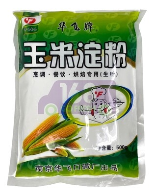 HUA FEI EDIBLE CORN STARCH 华飞牌 玉米淀粉(500G)