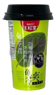 SUNITY GRASS JELLY- ORIGINAL FLAVOR 生和堂 杯装可吸龟苓爽(230G)