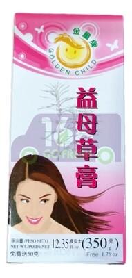 GOLDEN CHILD Motherwort Syrup (Yi Mu Cao Gao)金童牌 益母草膏 350克大瓶装