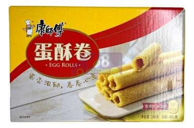 KSF CRISPY EGG ROLL(RICH CREAM) 康师傅 蛋酥卷 香浓奶油口味 (384G)