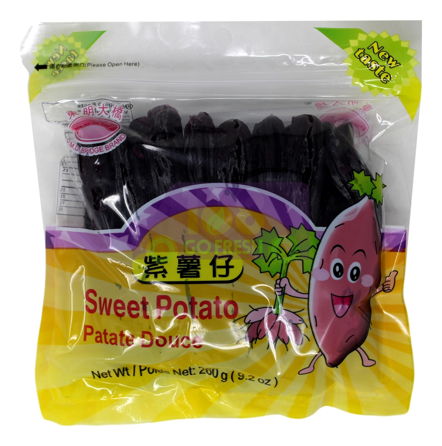D.M.D BRIDGE BRAND PURPLE SWEET POTATO DOUCE 东明大桥 紫薯仔 (260G)