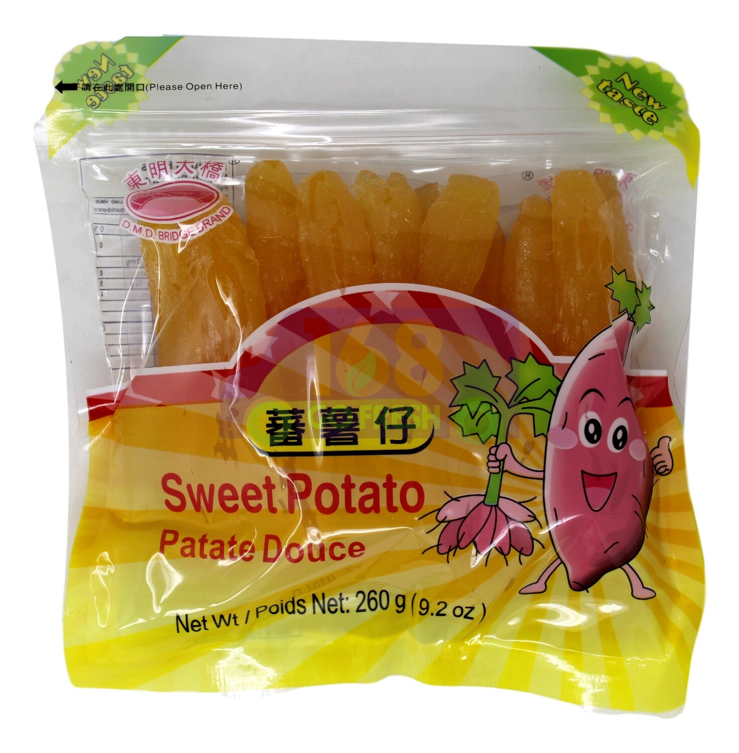 D.M.D BRIDGE BRAND SWEET POTATO DOUCE 东明大桥 番薯仔 (260G)