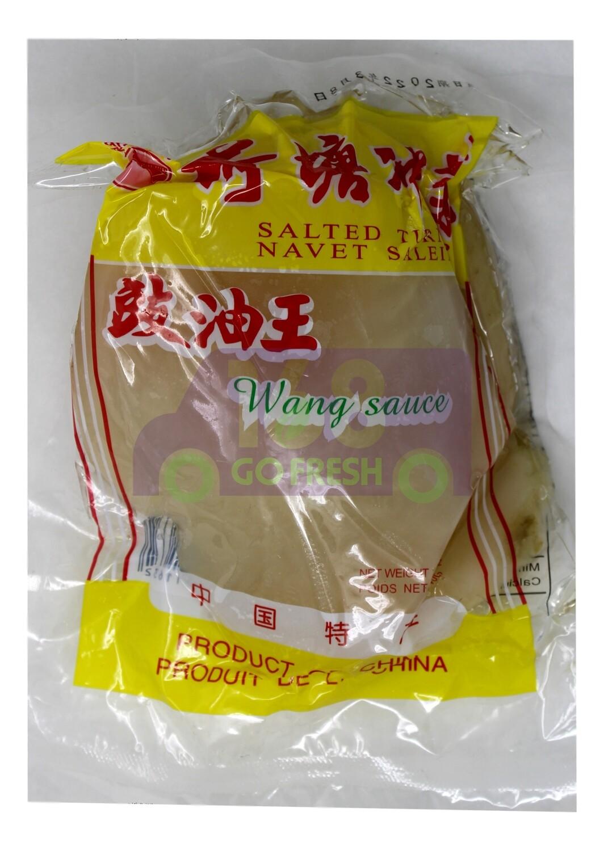 SHRED SALTED TURNIP 东明大桥 豉油王荷塘冲菜片(400G)