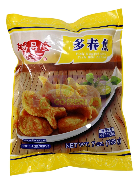 FISH NUGGET W/ FISH ROE ADDED 鸿昌隆 多春鱼(5.3OZ)