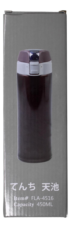 COLD&HOT INSULATION CUP  天池 FLA-4516 保温杯(粉色/棕色)