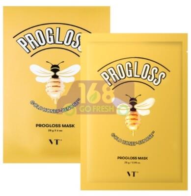 VT Gold Honey-Benone Progloss Mask 6pcs韩国VT 黄金蜂蜜复原蜜抗初老抗氧化滋润养肤面膜 6pcs