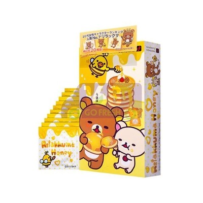 【LIMITED EDITION数量限定] OKAMOTO Rilakkuma Hot Jelly Regular Size Condom 12pcs  限定日本冈本轻松熊系列热感润滑标准型安全套/避孕套/保险套12pcs