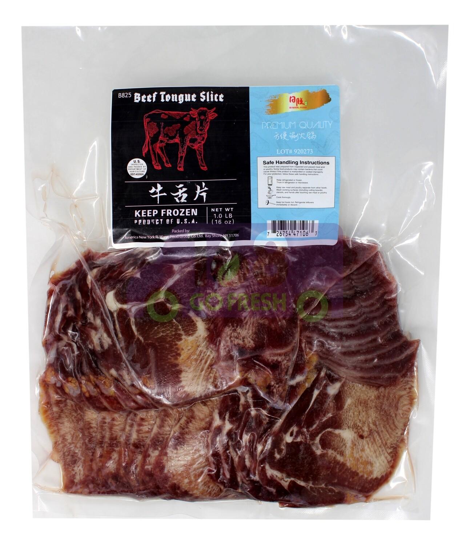 RIWANG SLICE BEEF TONGUE 日旺 牛舌片(1LB)