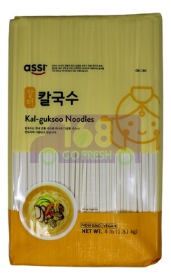 ASSI BRAND KAL-GUKSOO NOODLE ASSI 韩式干面 08118K (4LB)
