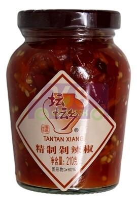 TANTAN XIANG PEPPERS 坛坛香 精制剁辣椒(210G)