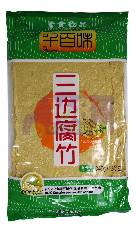 DRIED BEANCURD SHEETS 千百味 三边腐竹(12OZ)