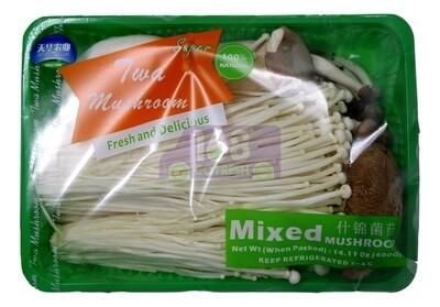 Mixed Mushroom 什锦菌菇(冬菇/金针菇/蟹味菇/白玉菇/杏鲍菇)(杂锦菇)(14.11OZ)