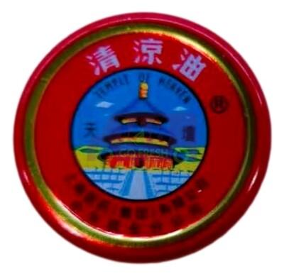 TEMPLE OF HEAVEN Essential Balm - Red 3.5g天坛牌强力清凉油万金油-红色3.5g(小)