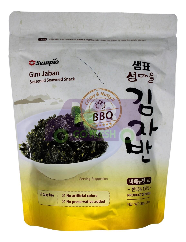 CRISPY SEAWEED SNACK BBQ 韩国sempio 调味紫菜碎 (烧烤味)