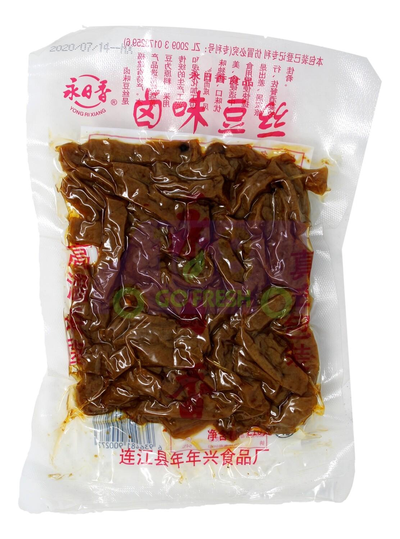 YRX BEAN CURD 永日香 卤味豆丝(210G)