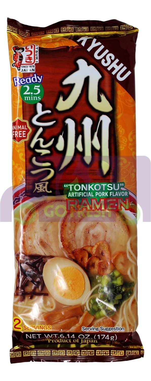 ITSUKI ARTIFICIAL PORK FLAVOR RAMEN 日本产 九州 猪肉拉面(6.14OZ)