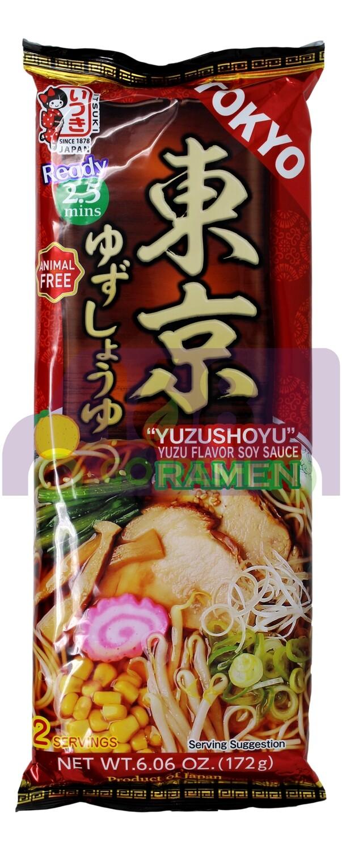 ITSUKI YUZU FLAVOR SOY SAUCE RAMEN 日本产 东京 酱油柚子拉面(6.06OZ)