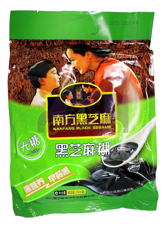 NAN FANG BLACK SESAME  南方 黑芝麻 无糖(600G 15小包)
