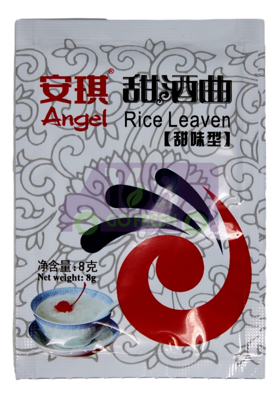 6包  ANGEL RICE LEAVEN 6包 安琪 甜酒曲