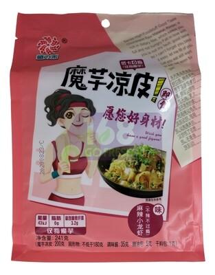 KONJAC COLD NOODLES- CRAWFISH 盛之禾 魔芋凉皮 麻辣小龙虾味(241G)